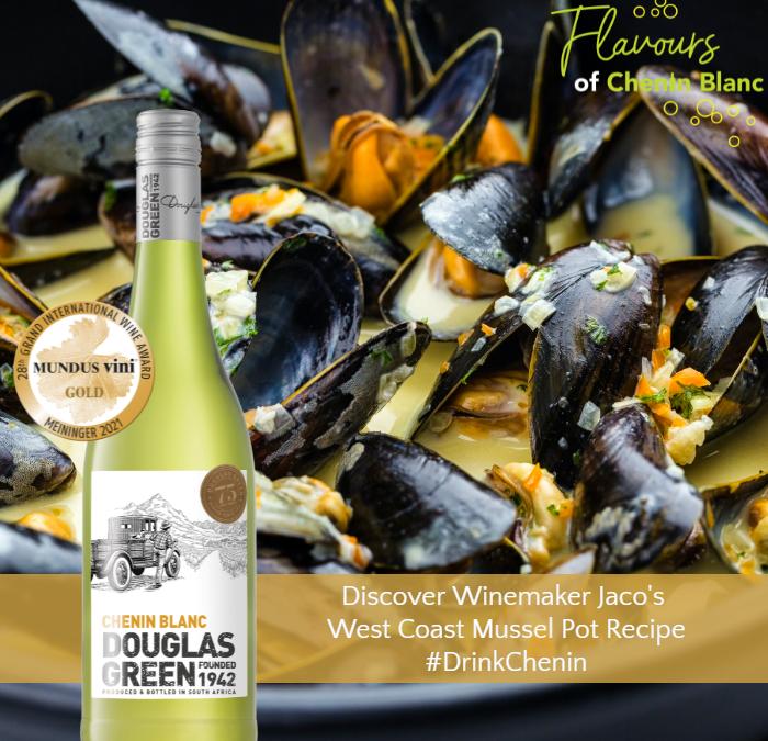 Winemaker Jaco Potgieter's – West Coast Mussel Pot and Chenin Blanc